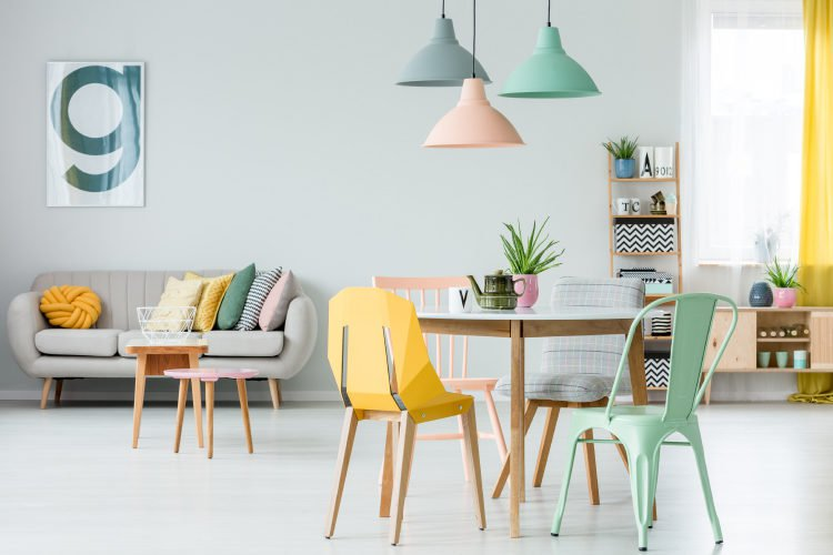 Ice Cream Colors: The 2019 Home Decor Trend