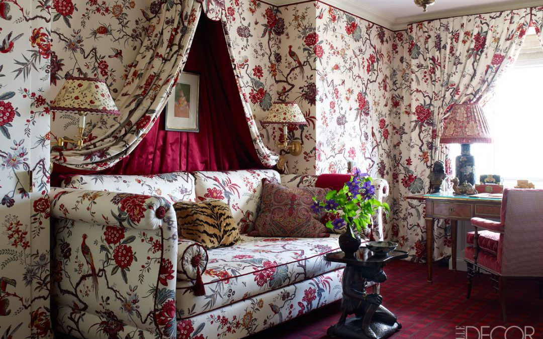 Chintz Decor Making a Comeback from the '80s
